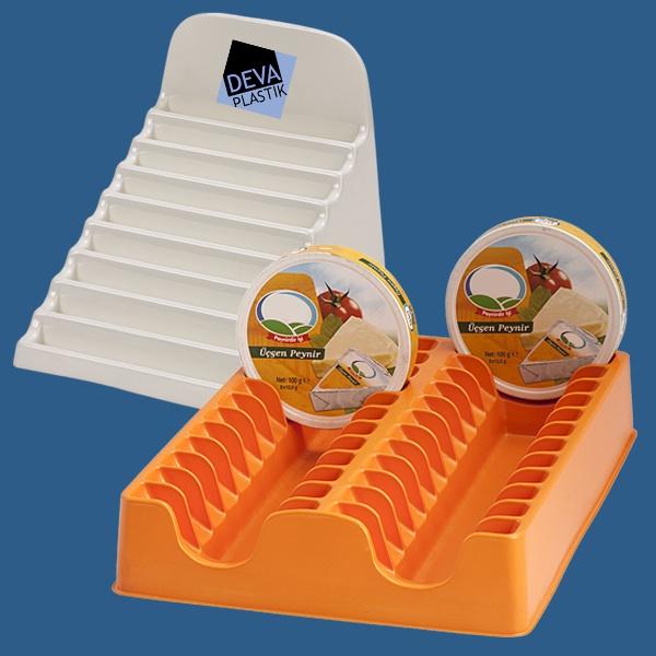 üçgen peynir standı